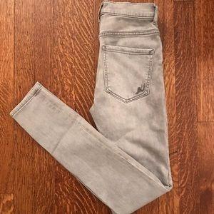 Women's Express Grey Legging Jean
